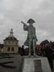 Captain George Vancouver's statue in King's Lynn