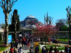 09 Istanbul, View of Hagia Sophia from Blue Mosque